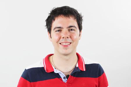 フランス語講師Bertrand