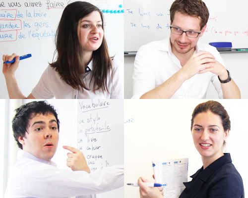 フランス語を教える知識・会話力をのばす技術を有する講師
